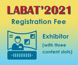 LABAT '2021: Exhibitor incl. 1 virtual booth with 3 content slots