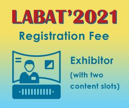 LABAT '2021: Exhibitor incl. 1 virtual booth with 2 content slots