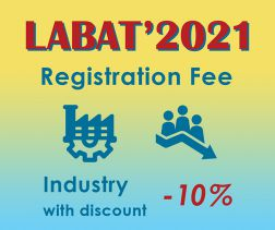 LABAT '21: Industry Representative with 10 % discount  - valid for 3 or more delegates from the same company